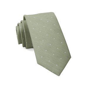 bulletin dot sage green ties
