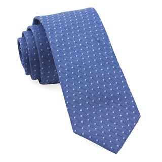 district dots navy ties