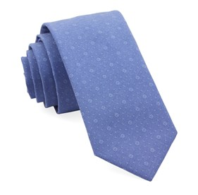 Classic Blue District Medallion ties