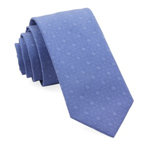 district medallion classic blue ties