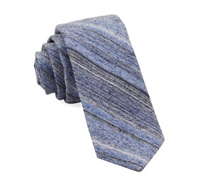 Light Blue Indigo Stripe ties