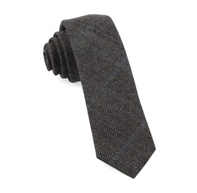 Academia Herringbone Grey Ties