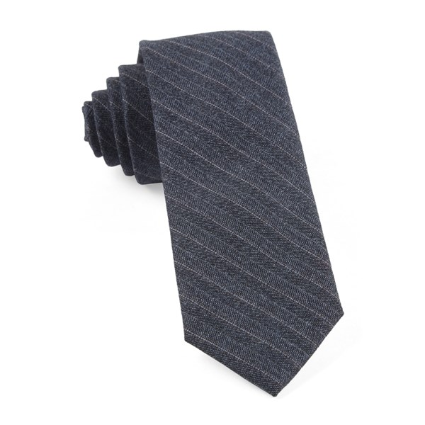 Whale Blue Assembly Of Stripes Tie