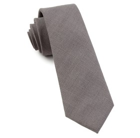 Counsel Solid Silver Ties