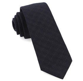 Pbl Plaid Navy Ties