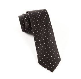 Black Hot Dots ties