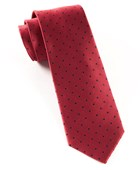 Ties - Hot Dots - Red