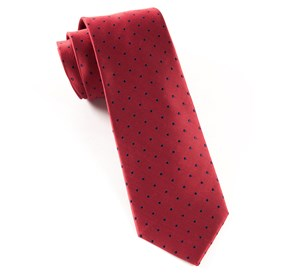 Red Hot Dots ties