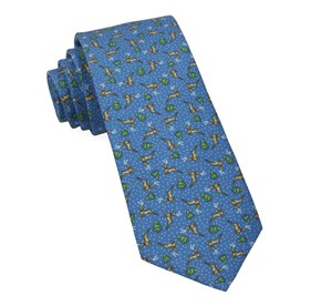 Christmas Fleet Serene Blue Ties