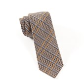 Ties - Fall Wool Plaid - Taupe