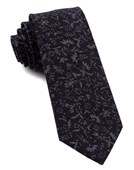 Ties - Floral Fade - Midnight Navy