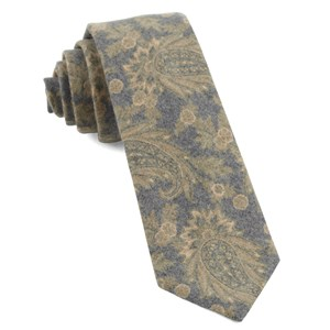 beacon street paisley mustard ties