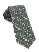 Ties - Morrissey Flowers - Hunter Green