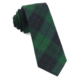 Blackmore Plaid Emerald Green Ties