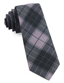 Ties - Blackmore Plaid - Wisteria