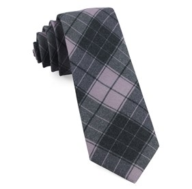 Blackmore Plaid Wisteria Ties