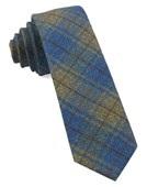 Ties - Merchants Row Plaid - Classic Blue