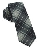 Ties - Merchants Row Plaid - Grey