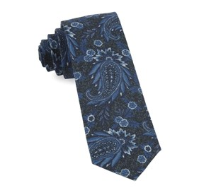 Royal Blue Headland Paisley ties