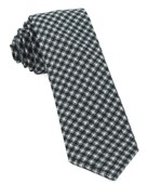 Ties - Brookline Street Houndstooth - Black