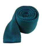 Ties - Knitted - Teal