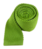 Ties - Knitted - Apple Green