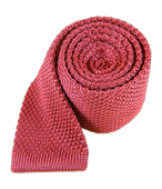Ties - Knitted - Dusty Rose