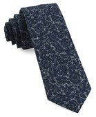 Ties - Kingsley Floral - Navy