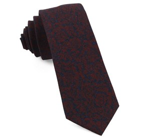 Red Kingsley Floral ties