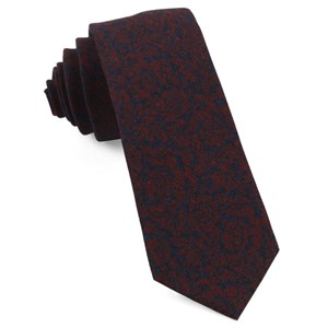 kingsley floral red ties