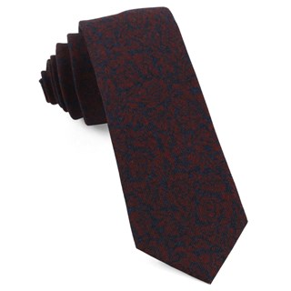 Kingsley Floral Red Tie