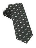 Ties - Boldrewood Chase - Dark Olive Green