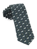 Ties - Boldrewood Chase - Army Green