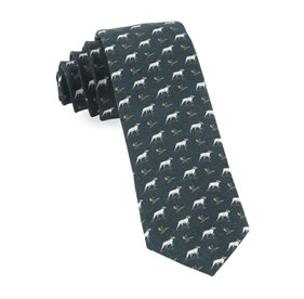 Boldrewood Chase Army Green Ties