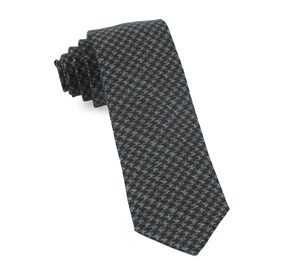 Black Woolf Houndstooth ties