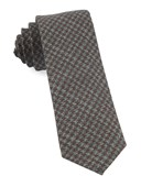 Ties - Woolf Houndstooth - Cognac