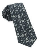 Ties - Southey Floral - Black
