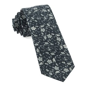 Black Southey Floral ties