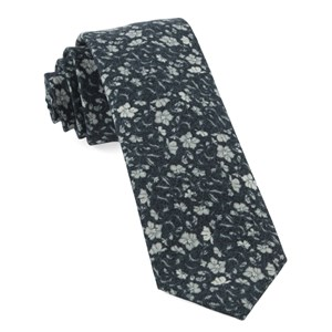 southey floral black ties