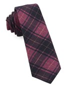 Ties - Merchants Row Plaid - Magenta