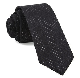 Flicker Classic Black Ties