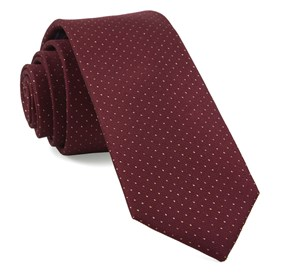 Burgundy Flicker ties