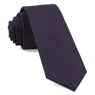 flicker eggplant ties