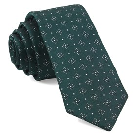 Hunter Green Gemstone Gala ties