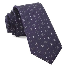 Eggplant Gemstone Gala ties