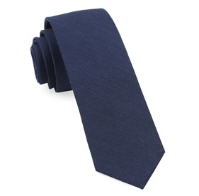 BHLDN LINEN ROW NAVY TIES