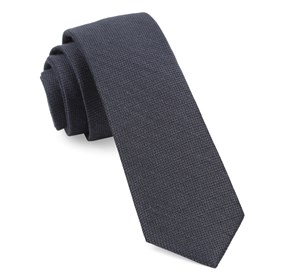 Bhldn Festival Textured Solid Pewter Ties