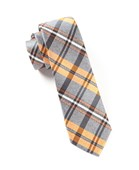 Ties - WINTER PLAID - ORANGES