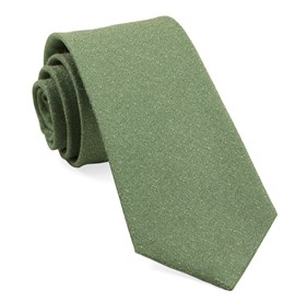 Grass Linen Stitched ties