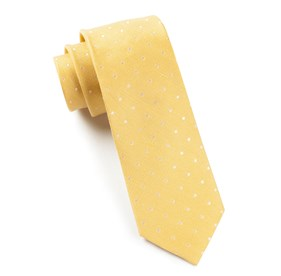 Butter Dotted Dots ties